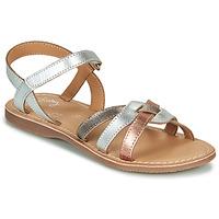 kengät Tytöt Sandaalit ja avokkaat Little Mary LIGHT Hopea / Bronze / Pink / Kulta