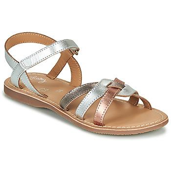 kengät Tytöt Sandaalit ja avokkaat Little Mary LIGHT Hopea / Pronssi / Vaaleanpunainen / Kulta