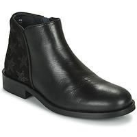 kengät Tytöt Bootsit Little Mary CAMERON Musta