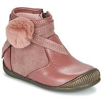kengät Tytöt Bootsit Little Mary FRANCOISE Vaaleanpunainen