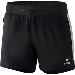 vaatteet Naiset Shortsit / Bermuda-shortsit Erima Short femme  Worker Squad noir/blanc