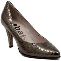 kengät Naiset Korkokengät Le Babe DECOLTE STAMPATO ACCIAIO Multicolore
