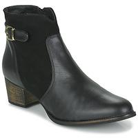 kengät Naiset Nilkkurit So Size SERELLE Black