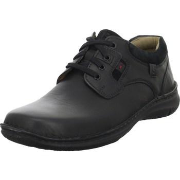 kengät Miehet Derby-kengät Josef Seibel Anvers Mustat