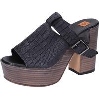 kengät Naiset Sandaalit ja avokkaat Moma Sandaalit BK101 Musta