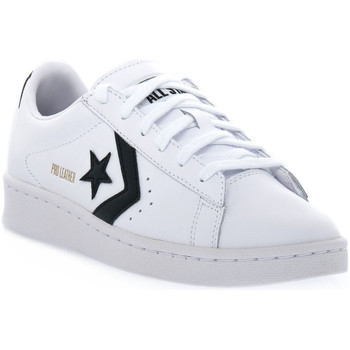 kengät Matalavartiset tennarit Converse PRO LEATHER COLORBLOCK Bianco