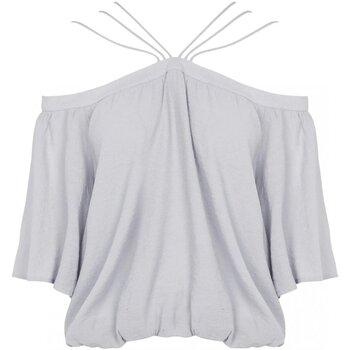 vaatteet Naiset Topit / Puserot See U Soon 20111182 Harmaa