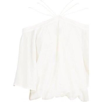 vaatteet Naiset Topit / Puserot See U Soon 20111182 Valkoinen