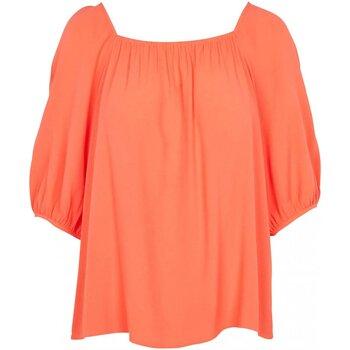 vaatteet Naiset Topit / Puserot See U Soon 20111195 Oranssi