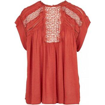 vaatteet Naiset Topit / Puserot See U Soon 20112148 Oranssi