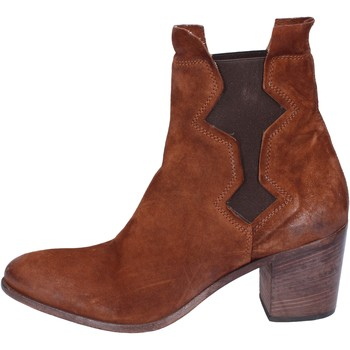 kengät Naiset Nilkkurit Moma BK142 Ruskea