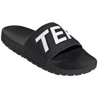 kengät Miehet Rantasandaalit adidas Originals Terrex Adilatte Mustat