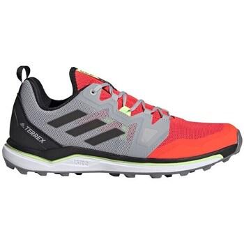 kengät Miehet Vaelluskengät adidas Originals Terrex Agravic Punainen, Harmaat