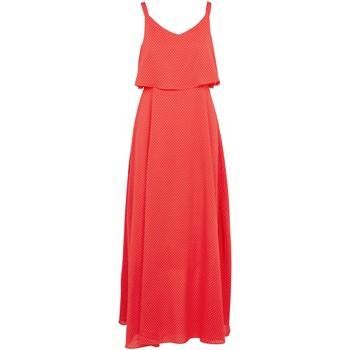 vaatteet Naiset Pitkä mekko Molly Bracken T1202P20 Oranssi