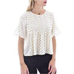 vaatteet Naiset Topit / Puserot See U Soon 20119097B Valkoinen
