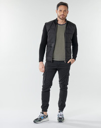vaatteet Miehet Reisitaskuhousut Jack & Jones JJIPAUL Black