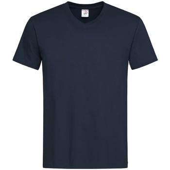 vaatteet Miehet Lyhythihainen t-paita Stedman  Blue Midnight