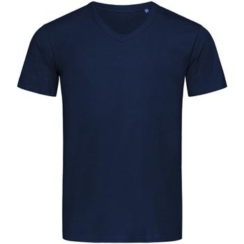 vaatteet Miehet Lyhythihainen t-paita Stedman Stars  Blue