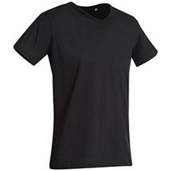 vaatteet Miehet Lyhythihainen t-paita Stedman Stars  Black Opal