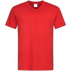 vaatteet Miehet Lyhythihainen t-paita Stedman  Scarlet Red