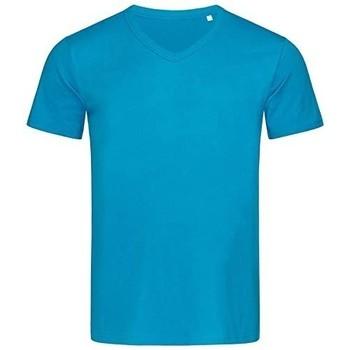 vaatteet Miehet Lyhythihainen t-paita Stedman Stars  Hawaii Blue