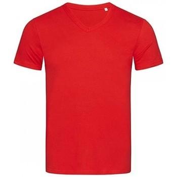 vaatteet Miehet Lyhythihainen t-paita Stedman Stars  Crimson Red
