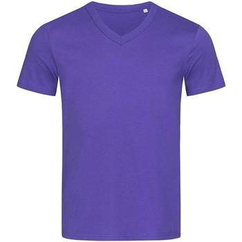 vaatteet Miehet Lyhythihainen t-paita Stedman Stars  Deep Lilac