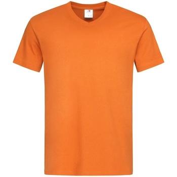 vaatteet Miehet Lyhythihainen t-paita Stedman  Orange