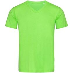 vaatteet Miehet Lyhythihainen t-paita Stedman Stars  Green Flash