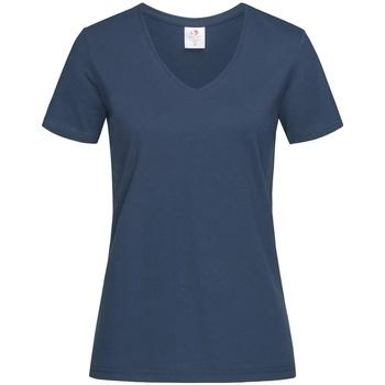 vaatteet Naiset Lyhythihainen t-paita Stedman  Navy