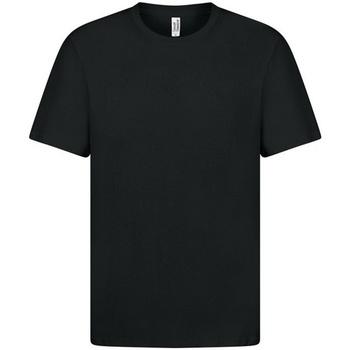 vaatteet Miehet Lyhythihainen t-paita Casual Classics  Black