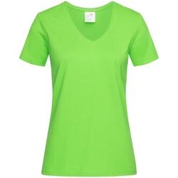 vaatteet Naiset Lyhythihainen t-paita Stedman  Kiwi Green