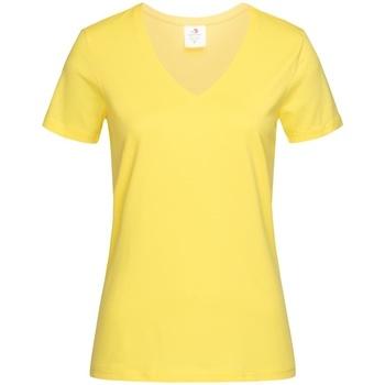 vaatteet Naiset Lyhythihainen t-paita Stedman  Yellow