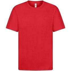 vaatteet Miehet Lyhythihainen t-paita Casual Classics  Red