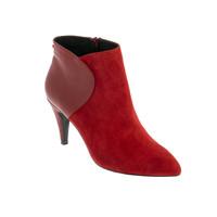 kengät Naiset Bootsit André ROSALINE Punainen