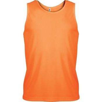 vaatteet Miehet Hihattomat paidat / Hihattomat t-paidat Proact Débardeur  Sport orange