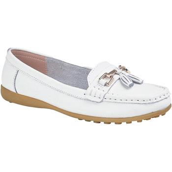 kengät Naiset Mokkasiinit Boulevard  White