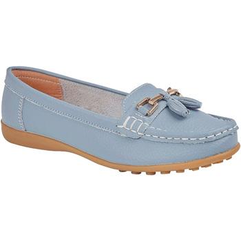 kengät Naiset Mokkasiinit Boulevard  Baby Blue