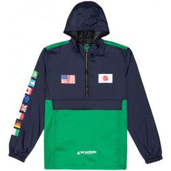 vaatteet Miehet Tuulitakit Huf Jacket flags anorak Sininen