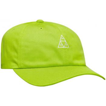 Asusteet / tarvikkeet Miehet Lippalakit Huf Cap essentials tt logo cv 6 panel bio Vihreä