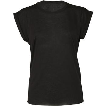 vaatteet Naiset Lyhythihainen t-paita Bella + Canvas BE8804 Black