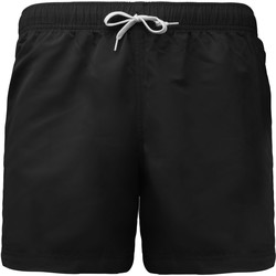 vaatteet Miehet Shortsit / Bermuda-shortsit Proact Short de bain court noir
