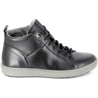 kengät Miehet Korkeavartiset tennarit Jana Sneaker 25202 Noir Musta