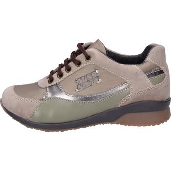 kengät Tytöt Tennarit Miss Sixty sneakers tessuto camoscio Beige