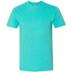 vaatteet Miehet Lyhythihainen t-paita Next Level NX6210 Tahiti Blue