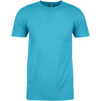 vaatteet Miehet Lyhythihainen t-paita Next Level NX6210 Bondi Blue