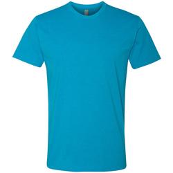 vaatteet Miehet Lyhythihainen t-paita Next Level NX6210 Turquoise