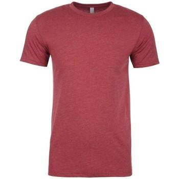 vaatteet Miehet Lyhythihainen t-paita Next Level NX6210 Cardinal Red