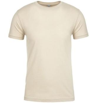 vaatteet Lyhythihainen t-paita Next Level NX3600 Cream