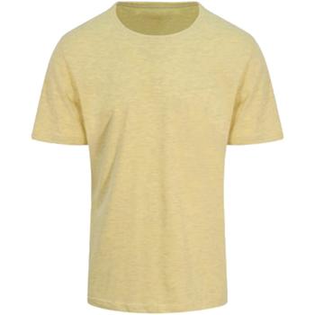 vaatteet Miehet Lyhythihainen t-paita Awdis JT032 Surf Yellow